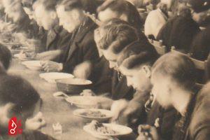 Mensen die eten: hongerwinter
