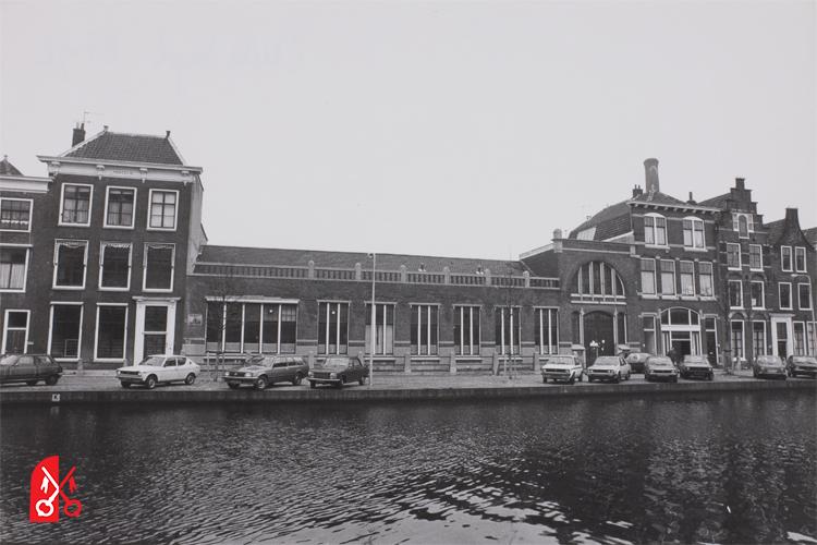 De textielfabriek J.J. Krantz en zoon in 1981 kort voor de sloop.