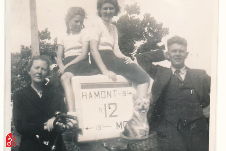 Het gezin Mulder na de oorlog