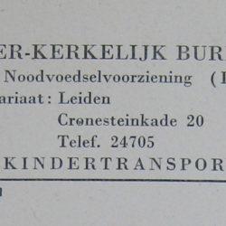 Kindertransporten IKB aanmeldingformulier