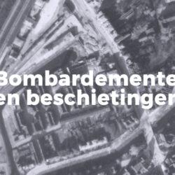 Bombardementen en beschietingen in Leiden