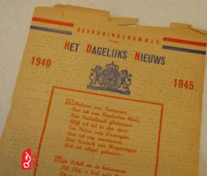 Bevrijdingsnummer Het Dagelijks Nieuws Leiden