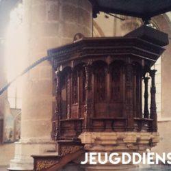 Jeugddiensten - Preekstoel van de Pieterskerk
